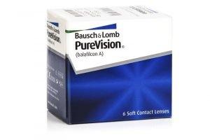 PureVision Kontaktlinsen REZENSION (6 Linsen)