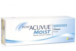 1-DAY Acuvue Moist for Astigmatism (30 lenses)