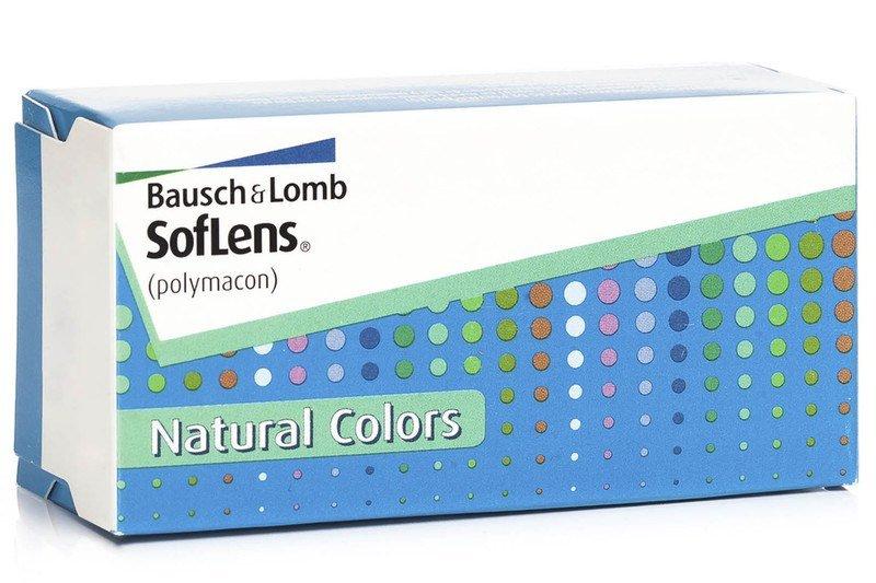 Farbige Kontaktlinsen SofLens Natural Colors REZENSION